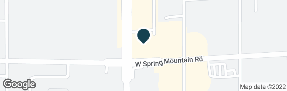 Google Map of3480 S JONES BLVD