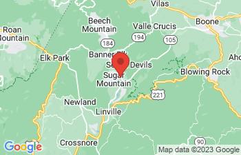 Map of Sugar Mountain