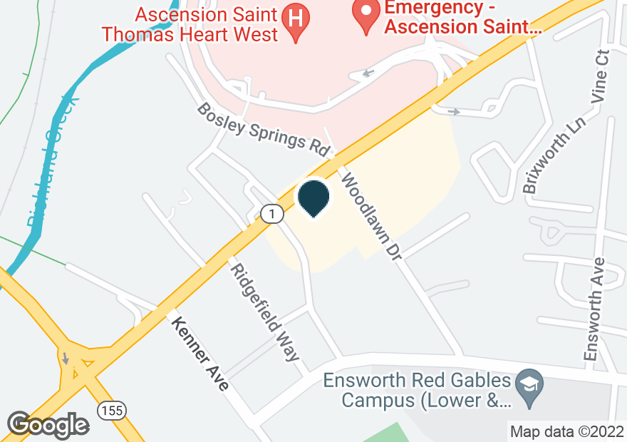 Google Map of4243 HARDING PIKE