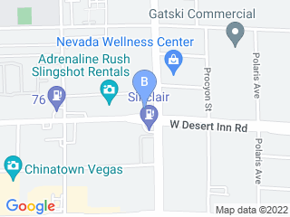 Map of A Doggies Delight Dog Boarding options in Las Vegas | Boarding