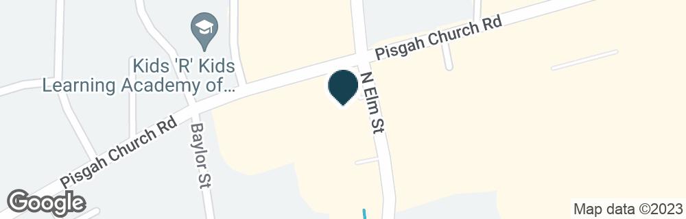 Google Map of3529 N ELM ST