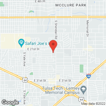 Map of Check `n Go at 2146 S Sheridan, Tulsa, OK 74129