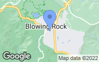 Map of Blowing Rock, NC