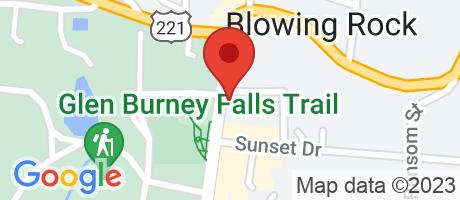 Branch Location Map - Wells Fargo Bank, Blowing Rock Branch, 983 Main Street, Blowing Rock NC