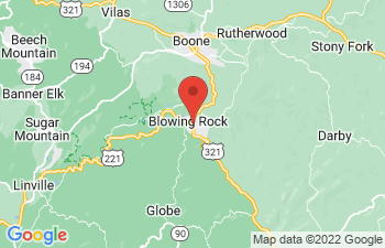 Map of Blowing Rock