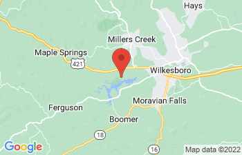 Map of Wilkesboro