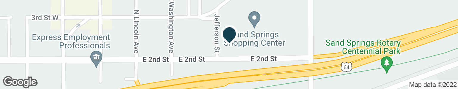 Google Map of405 E 2ND ST