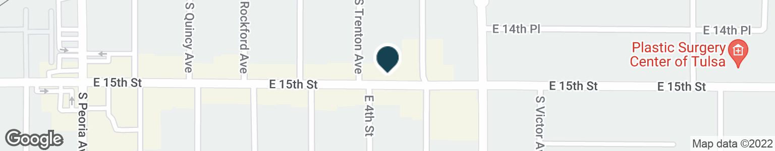 Google Map of1611 E 15TH ST