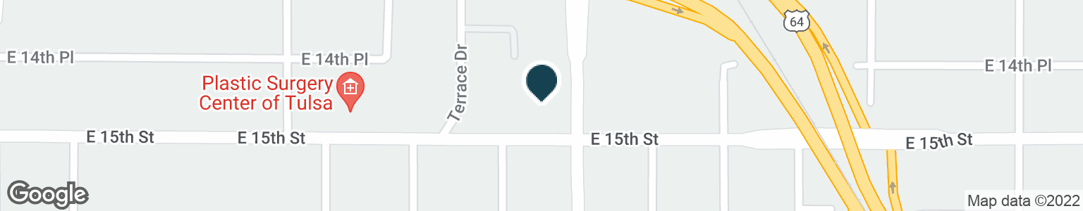 Google Map of1440 S LEWIS AVE