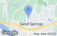 Map of Sand Springs, OK