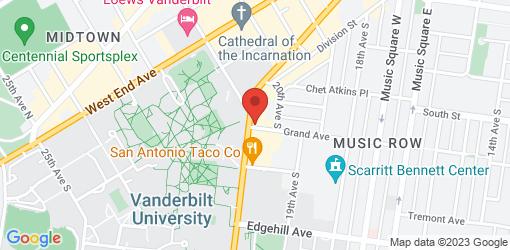 Directions to Mellow Mushroom Nashville - Vanderbilt