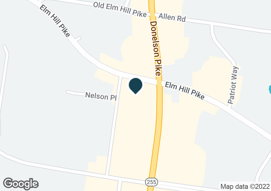 Google Map of518 DONELSON PIKE