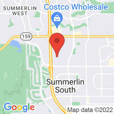 Map showing Makers & Finders (Summerlin)
