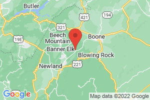 Map of Banner Elk