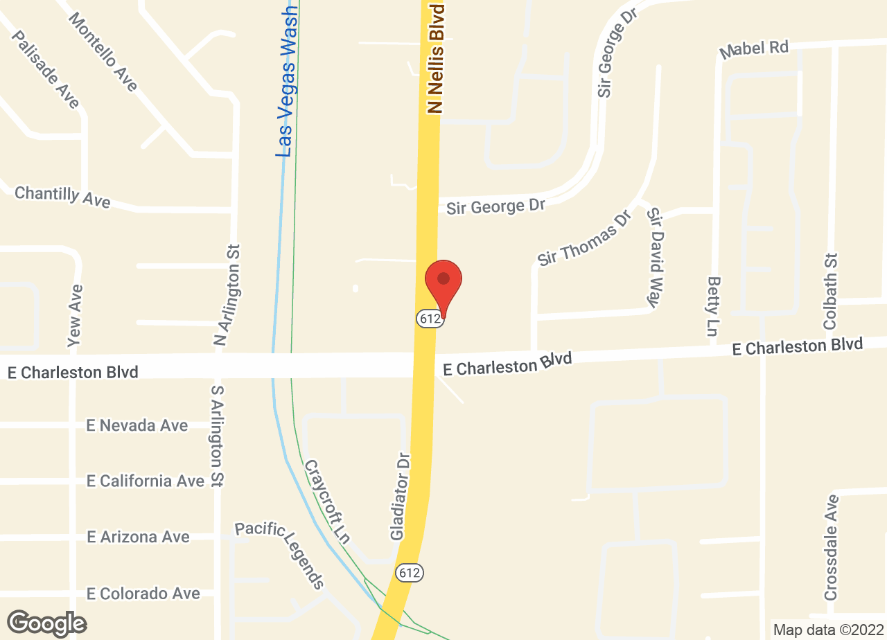Google Map of VCA Nellis Animal Hospital