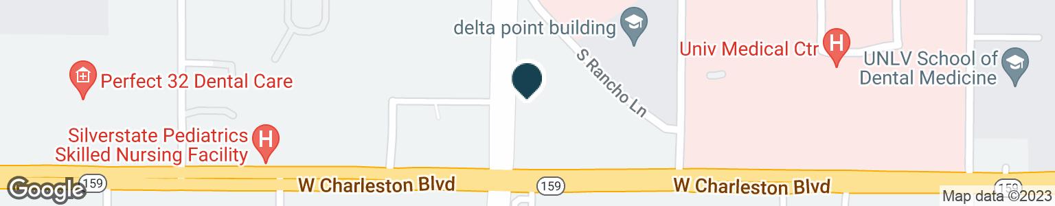 Google Map of901 S RANCHO DR