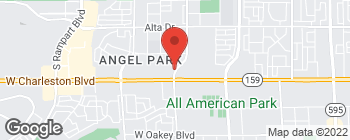 Map of 1017 S Cimarron Rd in Las Vegas