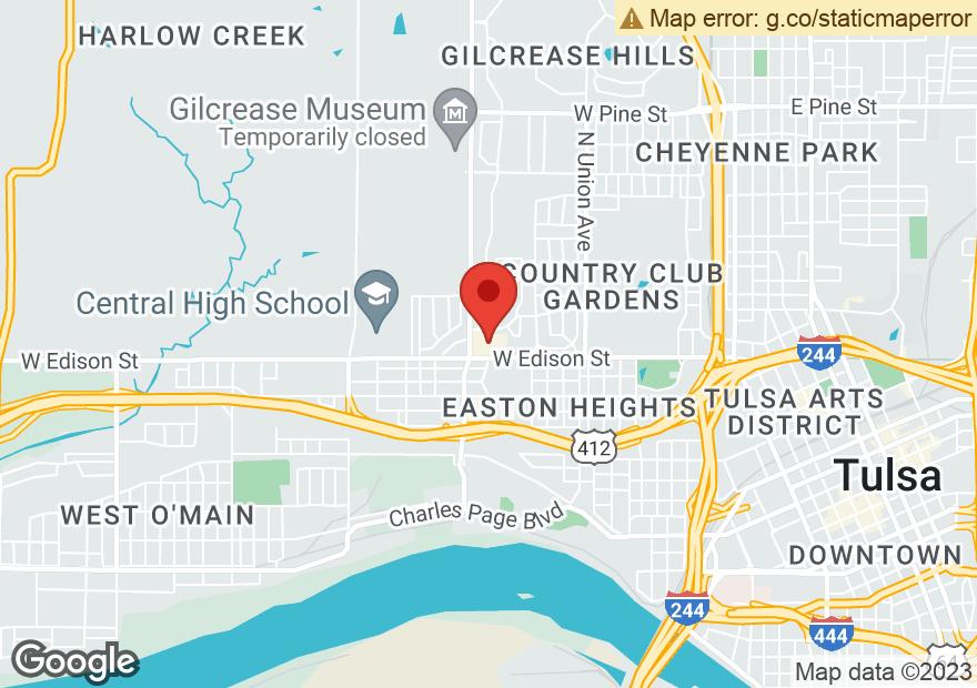 Google Map of 2323 W EDISON ST