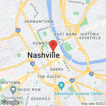 Map of Fifth Third Mortgage - Wil Ruiz at 424 Church Street, Nashville, TN 37219