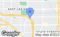 Map of Las Vegas, NV