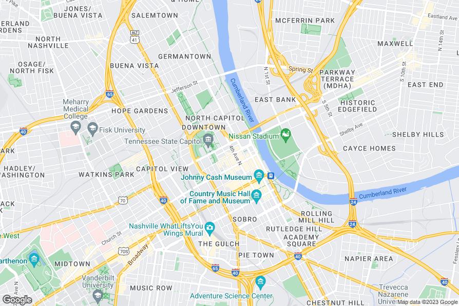 Restaurants In Downtown Nashville Near Bridgestone Arena