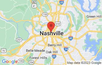 Map of Nashville