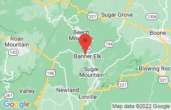 Map of Banner Elk