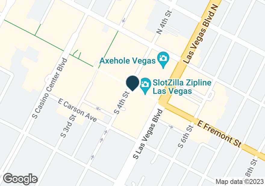 Google Map of495 FREMONT ST