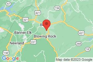 Map of Appalachian Ski Mountain