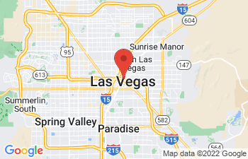 Map of Las Vegas