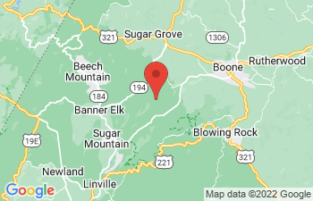 Map of Valle Crucis