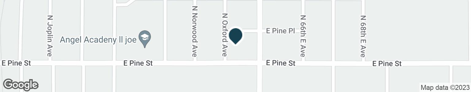 Google Map of6415 E PINE ST
