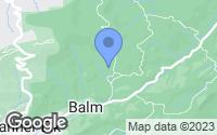 Map of Beech Mountain, NC