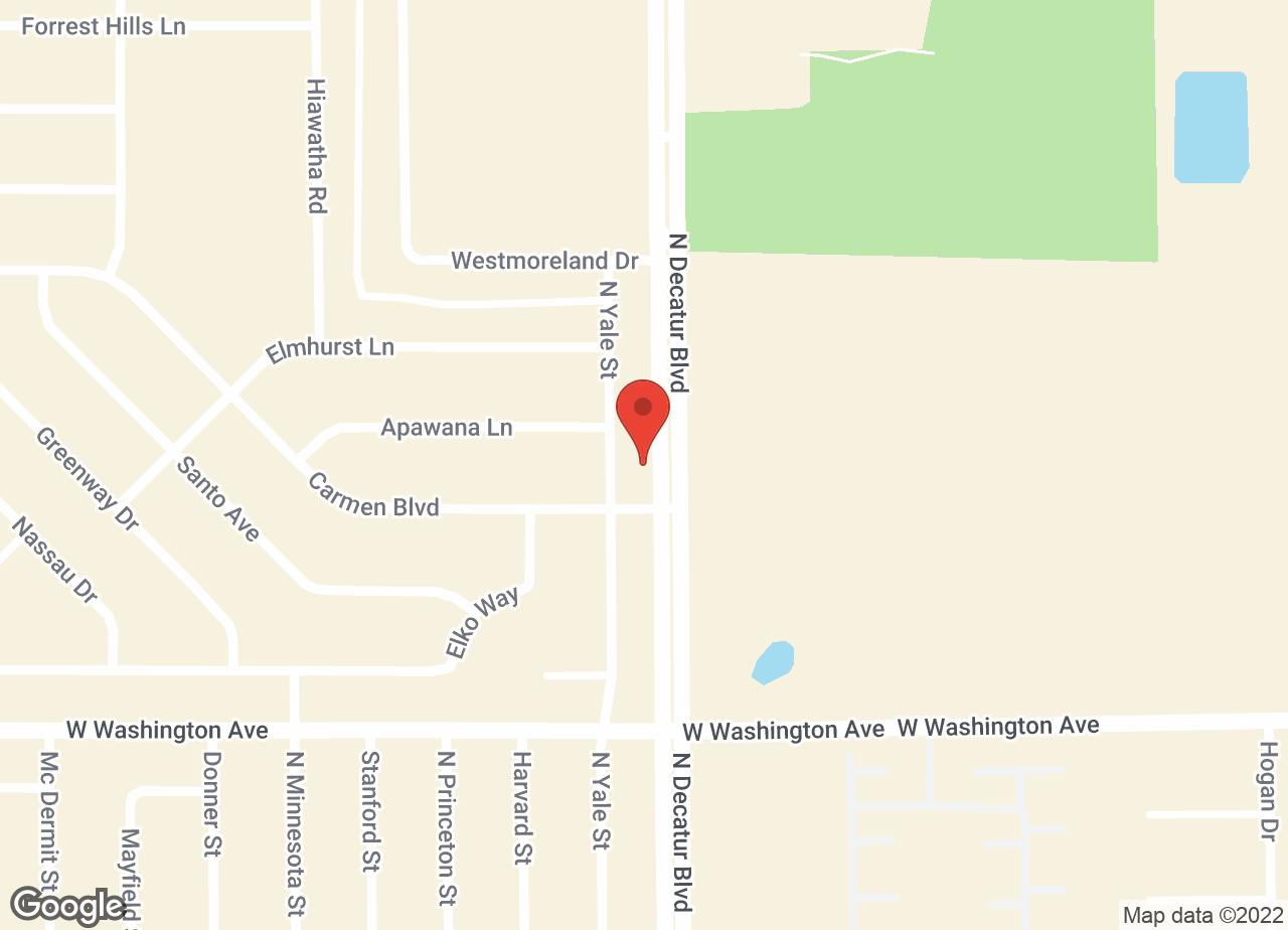 Google Map of VCA Decatur Animal Hospital