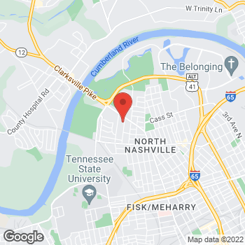 Map of Citi Trends at 2501 Clarksville Pike, Nashville, TN 37208