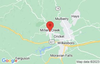 Map of Millers Creek