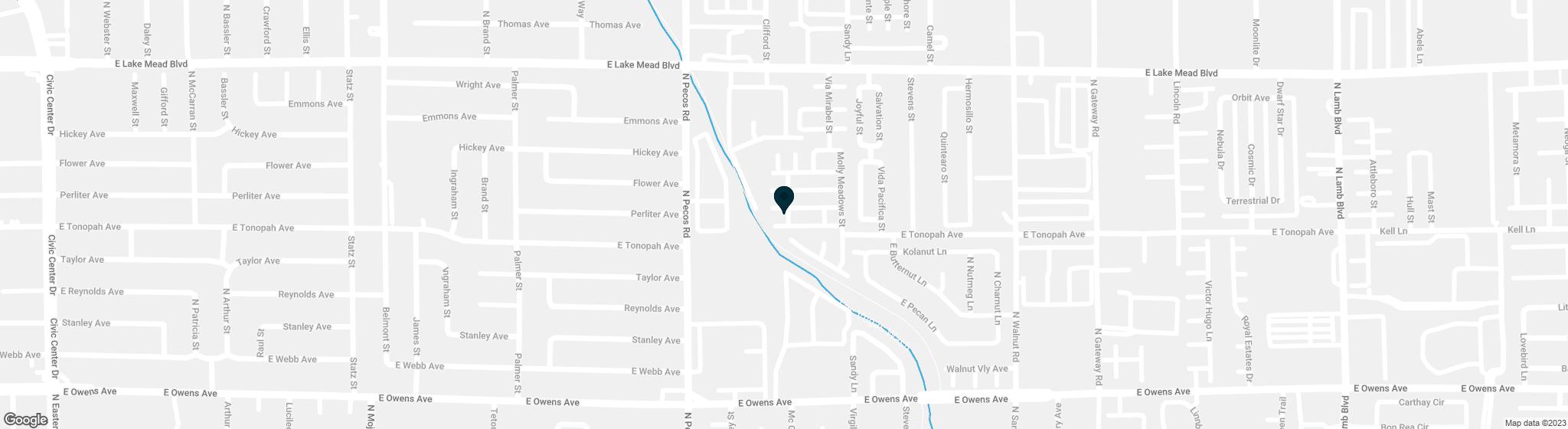 3625  Via Del Robles Avenue Las Vegas NV 89115