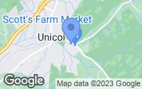 Map of Unicoi, TN