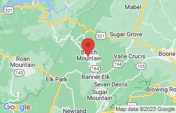 Map of Beech Mountain