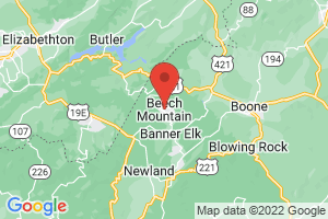 Map of Beech Mountain