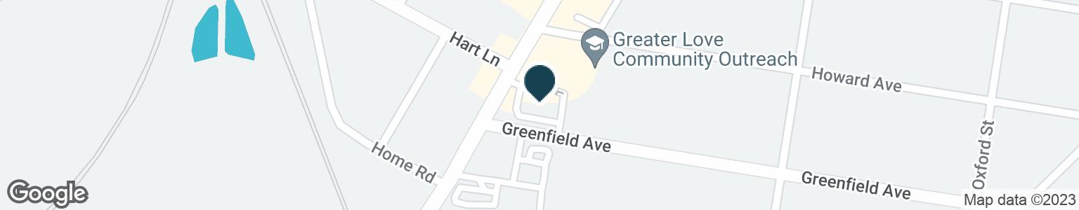 Google Map of3500 GALLATIN PIKE