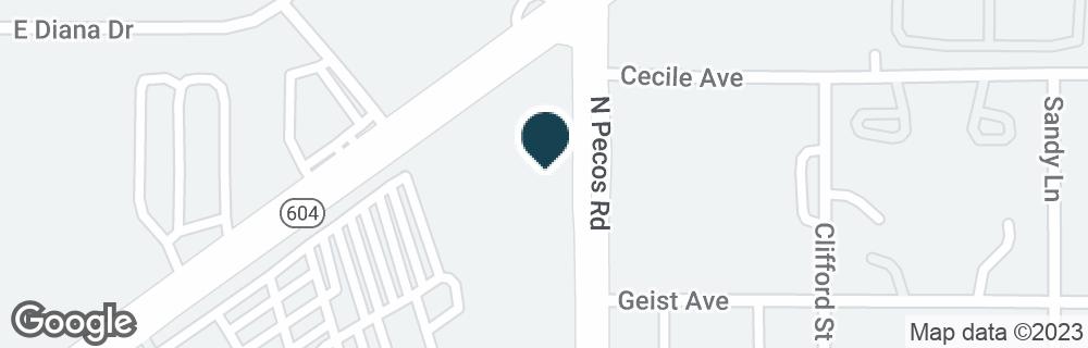 Google Map of3030 LAS VEGAS BLVD N