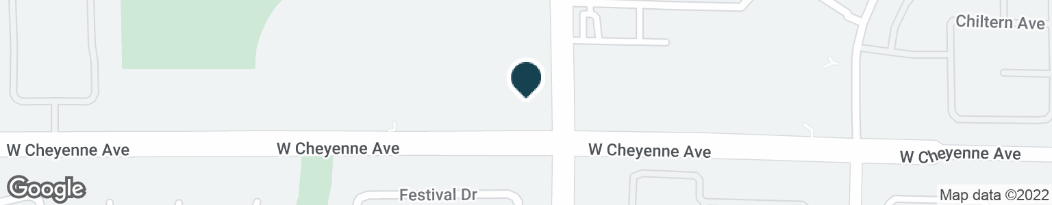 Google Map of8500 W CHEYENNE AVE