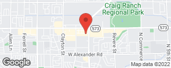 Map of 1527 W Craig Rd in North Las Vegas