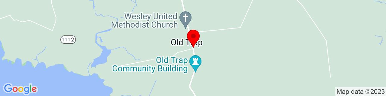 Google Map of 36.24071, -76.02687