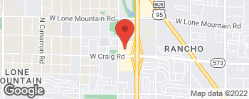 Map of 4450 N Tenaya Way in Las Vegas