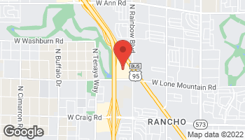 Map of 4949 North Rancho Drive in Las Vegas