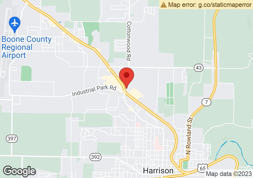 Google Map of 705 HIGHWAY 62 65 N