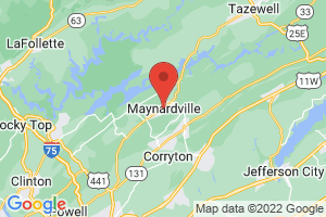 Map of Maynardville
