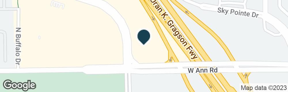 Google Map of5610 CENTENNIAL CENTER BLVD